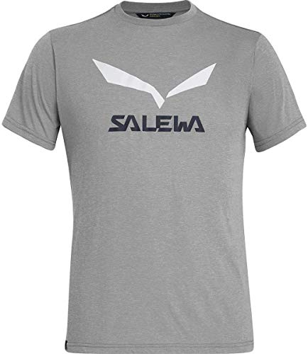 Salewa 00-0000027018_624 T-Shirt Homme, Heather Grey, FR : XL (Taille Fabricant : 52/X-Large)