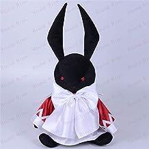 shenlanyu Juguete de Peluche Pandora Hearts Alice B-Rabbit 35cm Cosplay Mascot Toy Anime Black Stuffed & Plush Cartoon Doll