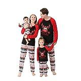 Conjunto de pijama de Navidad para familia con diseño de renos