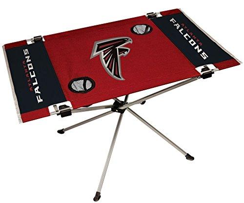 NFL Portable Folding Endzone Table, 31.5 in x 20.7 in x 19 in, Atlanta Falcons