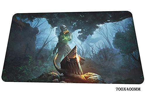 Drachenmuster Mauspad Großer Laptop 700X400Mm Große Oberfläche Wasserdicht Rutschfeste Sperre Mauspad -Color_J Mauspad groß cjjn2490