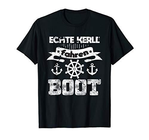 T-Shirt Boot Schiff Bootfahren Segeln Motorboot Motiv Spruch