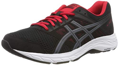 mejores Zapatillas de triatlón para mujer Asics Gel-Contend 5, Zapatillas de Running para Hombre, Negro (Black/Metropolis 005), 44.5 EU