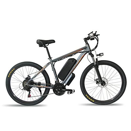 Bicicleta Eléctrica De Montaña 26 Pulgadas 350W E-Bike Bicicleta De Montaña Hombres...