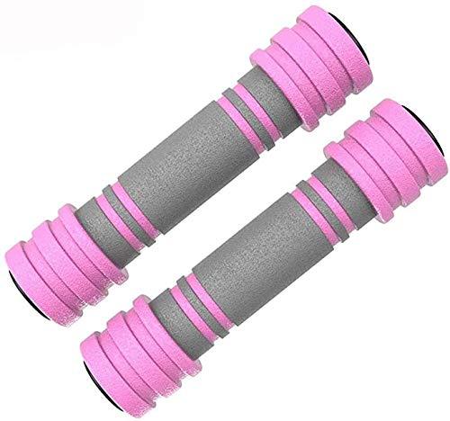 Für alles dankbar Damen Hantel Paar Home Fitness Anfänger üben Arm Muskel Gewichtsverlust Abnehmen Gewichtsverlust Ausrüstung Aerobic Kleine Hanteln(Size:3 kg,Color:Rosa)