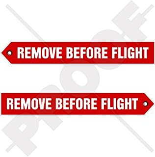 remove before flight decal