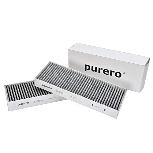 purero Aktivkohlefilter 2er Set für Dunstabzug passend für BIU/BHU/BFIU, kompatibel mit Bora BASIC, Filter mit Aktivkohle zur Entfernung von Gerüchen