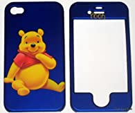 blue disney winnie the pooh iphone case