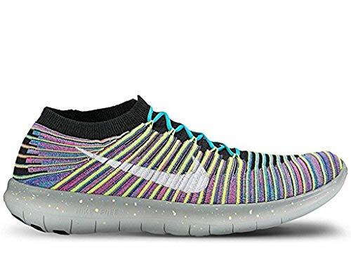 Nike Mens Free Rn Motion Flyknit Running Shoe (Multicolor, 11.5)