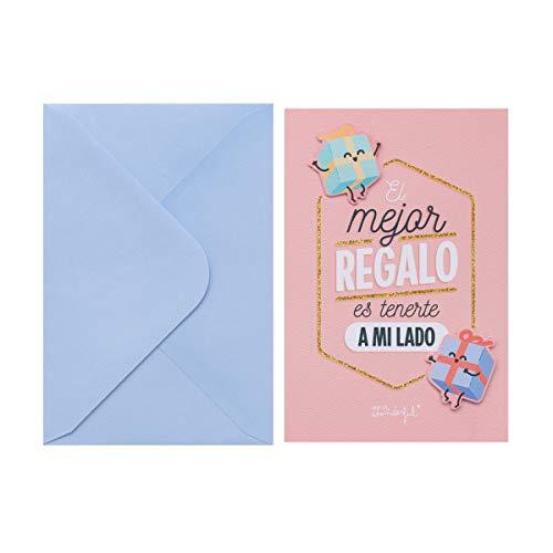 Mr. Wonderful Postal - El mejor regalo es tenerte a mi lado