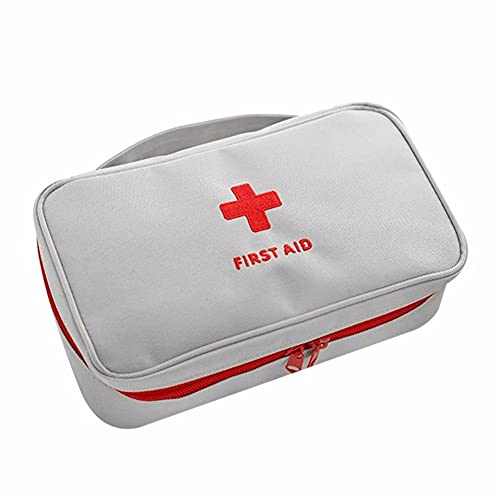XLLQYY Bolsa de primeros auxilios vacía bolsa de rescate de viaje bolsa de emergencia para el coche, hogar, oficina, cocina, deporte al aire libre (B)