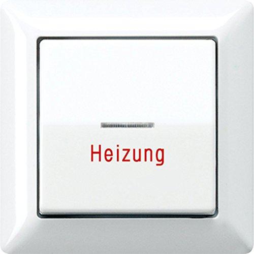 Jung AS590HWW Wippe Heizung Notschalter