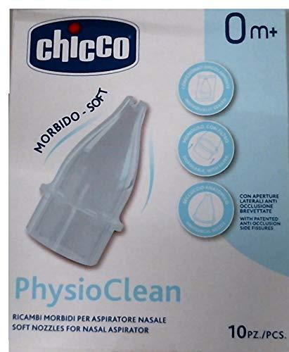 Chicco Recambios Aspirador Nasal Physioclean 10 Unidades