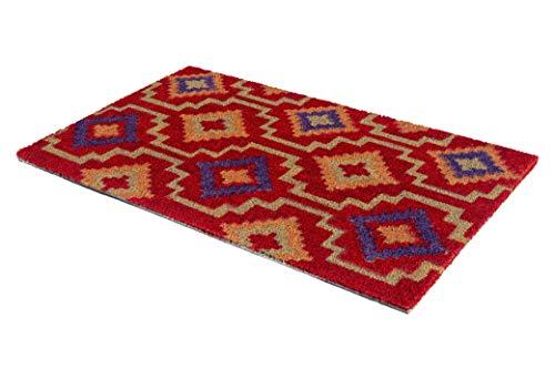 FAB HAB Lhasa Kilim tappetini da Pavimento - 46 cm x 76 cm - Gomma Naturale, Antiscivolo, Resistente
