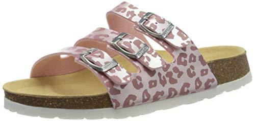 Superfit Mädchen Fussbettpantoffel Pantoffeln, Pink (Rosa 56), 27 EU