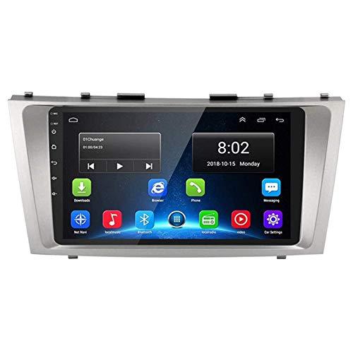 Android 8.1 9' HD Touch Screen Navegador GPS Head for Toyota Camry 2006-2011 FM/Bluetooth/Volante/Retrovisor Cámara