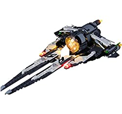 LED kit: The lighting of the LED kit is designed for the 75242 (Star Wars Resistance Black Ace TIE Interceptor). With this light kit, you can light up your building model, make it looks gorgeous. Delicate Design: It can emits beautiful and charming l...