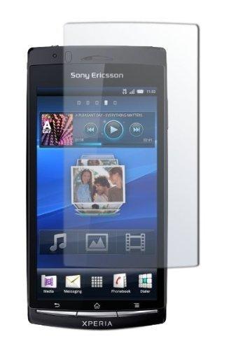 PhoneNatic 4 x Pellicola Protettiva Trasparente Compatibile con Sony Xperia Arc S Pellicole Protettive