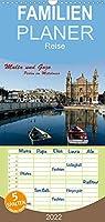 Malta und Gozo, Perlen im Mittelmeer - Familienplaner hoch (Wandkalender 2022 , 21 cm x 45 cm, hoch): Bilder einer Reise nach Malta und Gozo (Monatskalender, 14 Seiten )