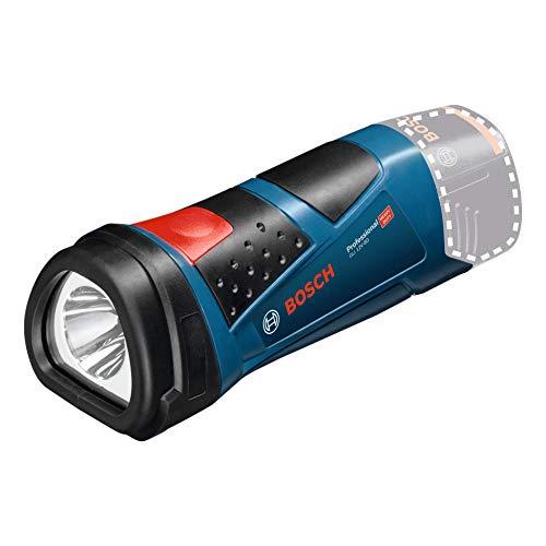Bosch Professional Lampe Sans-Fil GLI 12V-80 (12V, flux lumineux : 80 Lumen, 0,14kg sans batterie)