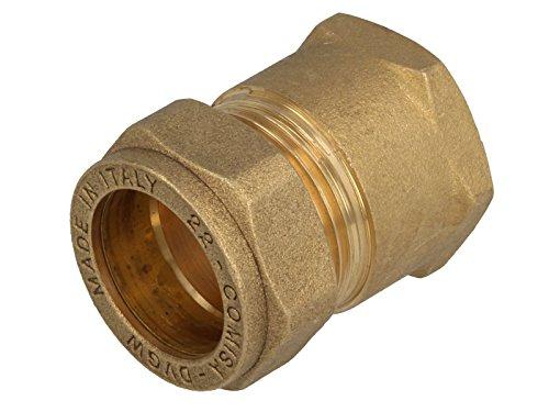 MS-Klemmringverbinder, Muffenverschraubung mit Klemmring 15mm x 1/2 Zoll IG