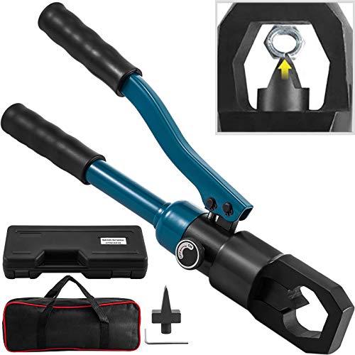 VEVOR Hydraulischer Mutternspalter 14-36 mm Hydraulisches Schraubenschneidewerkzeug Integraler Hydraulischer Mutternsprenger