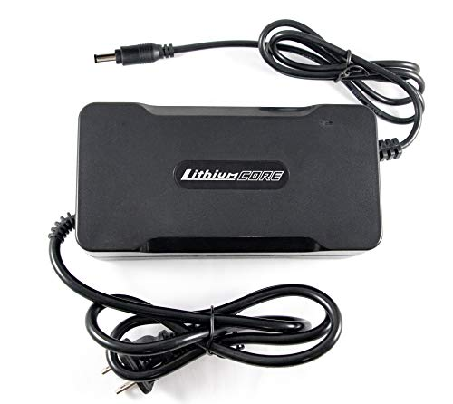 LithiumCore 4A Fast Charger for Boosted Board V2 (Compatible with Mini S, Mini X, Plus, Stealth, & Rev Scooter)