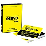 SERVD - His & His - The Hilarious New Real-Life Couples Card Game for Adults (Male Same Sex Couples)