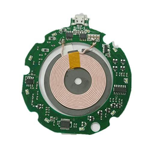 10W Qi estándar placa de circuito+bobina DIY cargador inalámbrico módulo PCBA carga