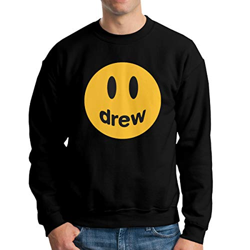 Justin Bieber Drew Men's Crewneck Sweatshirt,Sweatshirt For Men