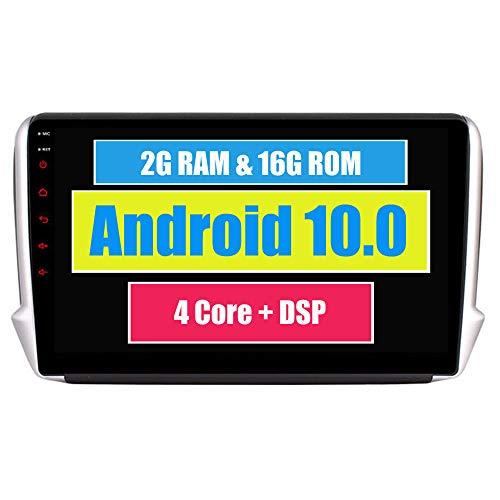 RoverOne Android 7.1 Système GPS de Navigation GPS pour Peugeot 208 2008 avec Autoradio Radio Stéréo Bluetooth Miroir Lien Quad Core Système Multimédia
