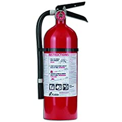 Multipurpose protection: Fights Class A, B, and C fires and is UL rated 2-A:10-B:C Easy to read: Gauge tells you when fire extinguisher is charged and ready for use Light weight: Durable corrosion resistant aluminum cylinder Clear instruction label: ...