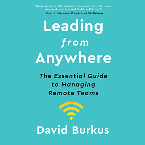 Leading from Anywhere Audiobook By David Burkus cover art