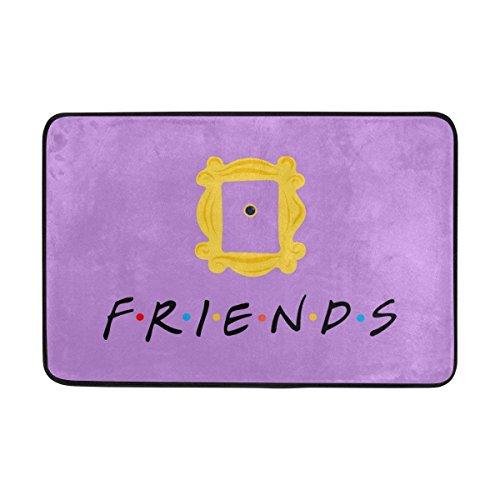 NFfreeL Doormat Friends Tv Show Card...