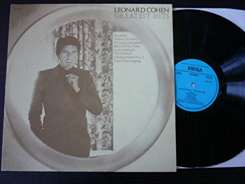 Leonard Cohen - Greatest Hits - AMIGA - 8 55 790