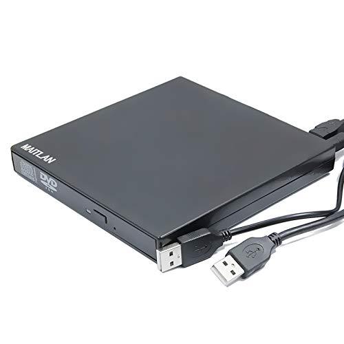 Reproductor de DVD externo USB Combo unidad óptica portátil para Alienware M15...