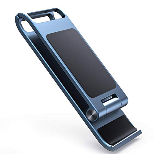 Soporte Para Teléfono Celular, Portátil, Completamente Plegable, Ajustable, De Aleación De Aluminio,...