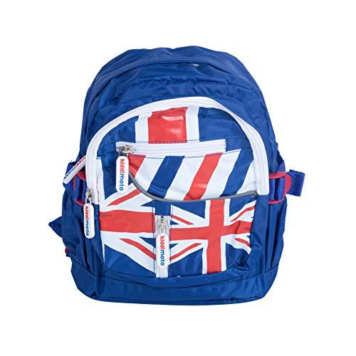 KIDDIMOTO BAGUJ-S - Mini Rucksack für Kinder Union Jack