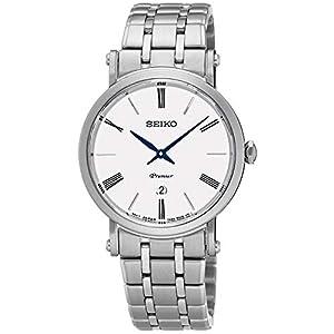 Seiko SXB429P1 Reloj analógico de cuarzo para mujer con correa de acero