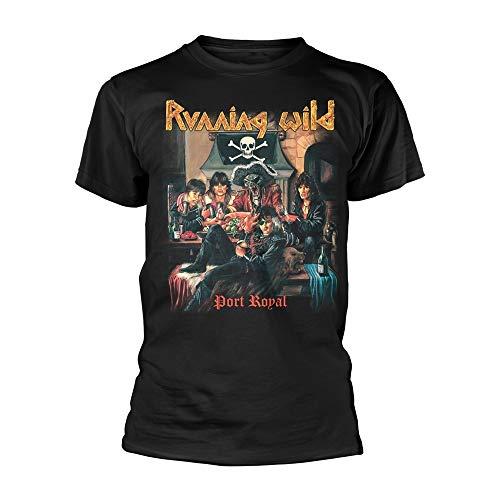 Tee Shack Running Wild Port Royal Oficial Camiseta para Hombre (Medium)