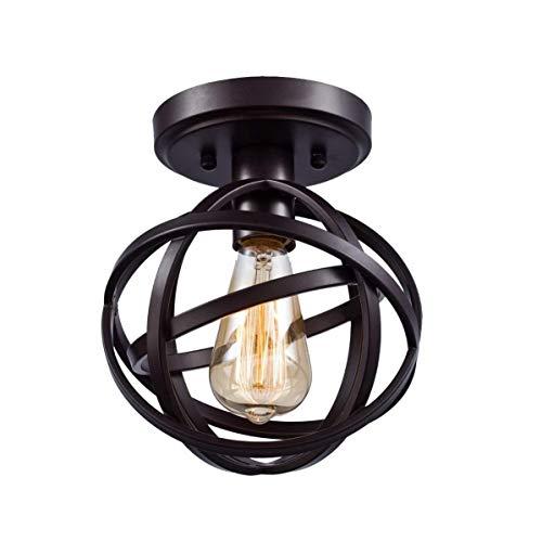 Aisle Retro Vintage Fixture, zwart plafondlamp, restaurant, gang, veranda, bar, terras, trap, plafondlamp, hangende verlichting E26/E27 85-240V