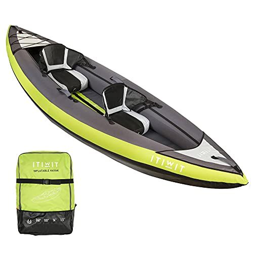 Itiwit, Inflatable Recreational Sit-on Kayak, 2 Person