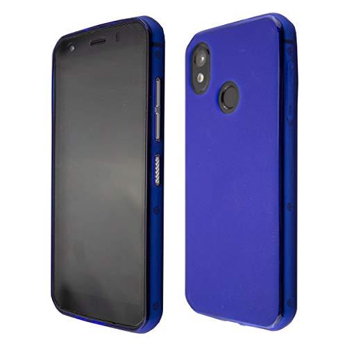 caseroxx TPU-Hülle für Cat S52, Handy Hülle Tasche (TPU-Hülle in blau)