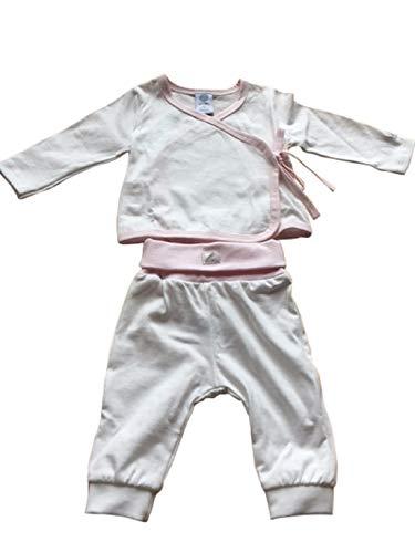 Sanetta Pijama de dos piezas. White Pebble 68 cm