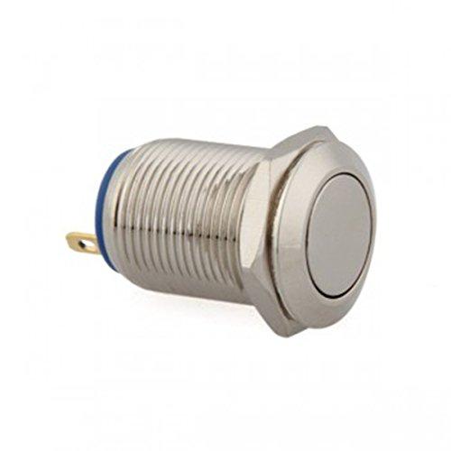 12 mm 12 V momentané sur Boutons Poussoir Interrupteur On/Off pour voiture Mini Véhicule Durable Bateau automatique