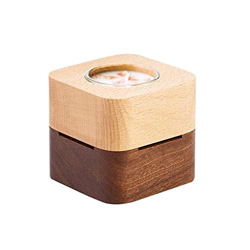 WECDS-E Caja de música Caja de música de Madera para Enviar cumpleaños a Las Novias del Maestro Caja de música Creativa Caja Musical giratoria (Color: Mi corazón es Eterno)