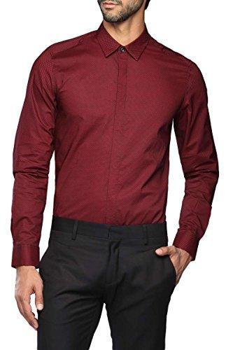 ANTONY MORATO - Homme slim chemise mmsl00245/fa430115 46 (s) rouge