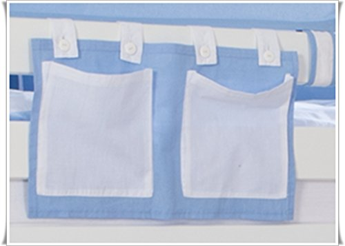 Tony poche latérale Sac pochette en tissu blauboy pour enfants haut Lits