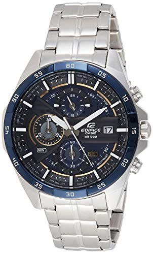 Casio Edifice Analog Blue Dial Men's Watch