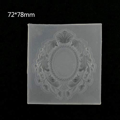 Yintiod siliconen vorm DIY fotolijst spiegel epoxyhars handwerk sieraden maken gereedschap bloemen holle kristallen handgemaakte geschenken kunst decoratie